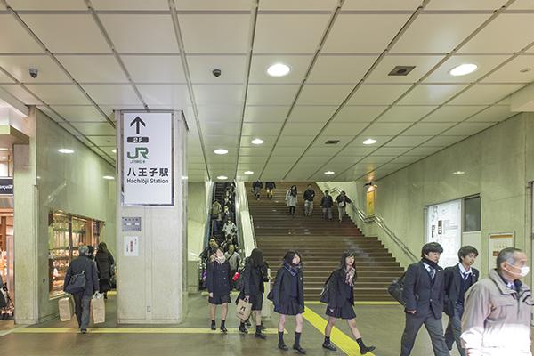 八王子駅からの道順